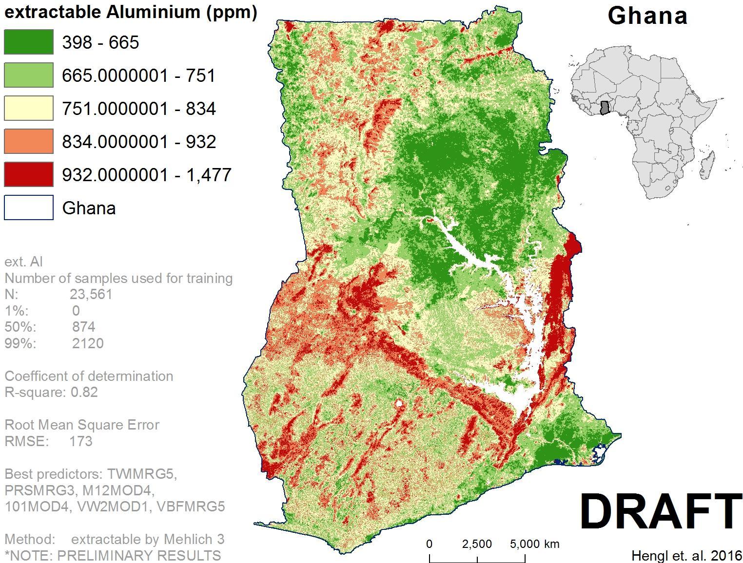 Soil map of ghana - Map of soil ghana (Western Africa - Africa)