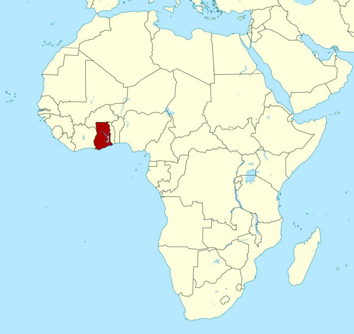 Map Of Africa Showing Ghana.Ghana Africa Map Map Of Africa Showing Ghana Western Africa Africa